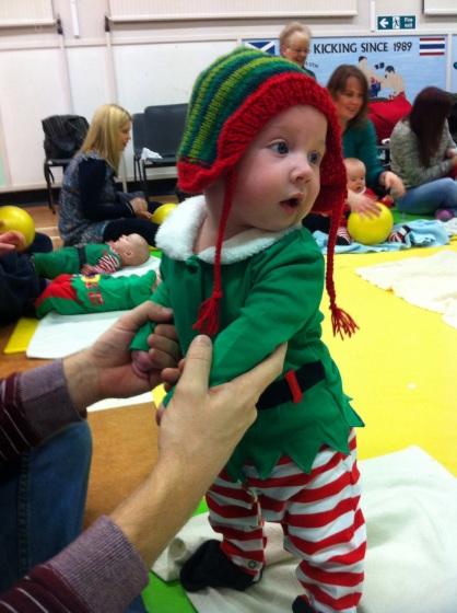 Baby Sensory Christmas Elf