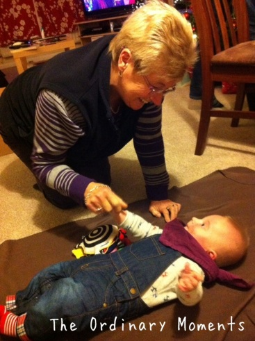 Grandparents - Grandma and Toby