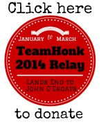 Team Honk Blogger Relay