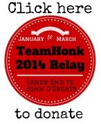 Team Honk Blogger Relay
