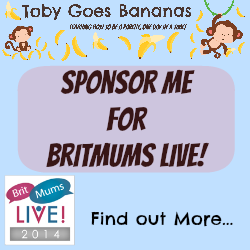 Sponsor me for Britmums Live